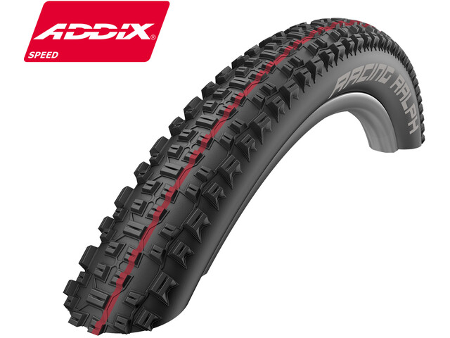 "SCHWALBE Racing Ralph Folding Tyre 26"" Addix Speed SnakeSkin TL-Easy"